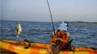 カヤック釣り